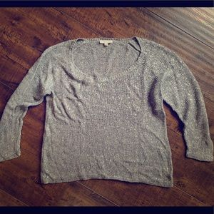 Eileen Fisher Sweater with slight shimmer size M